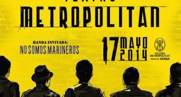 División Minúscula llenó el Metropólitan y puso a cantar a todos sus fans