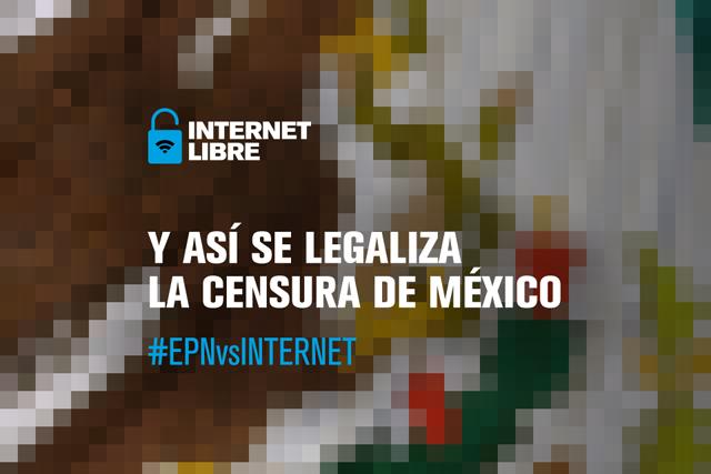 Maquillado y recargado: Artículos #EPNvsInternet siguen en #LeyTelecom
