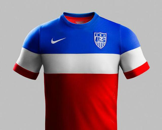Así será el segundo uniforme de Estados Unidos