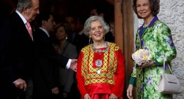 La escritora mexicana Elena Poniatowska recibe el Premio Cervantes