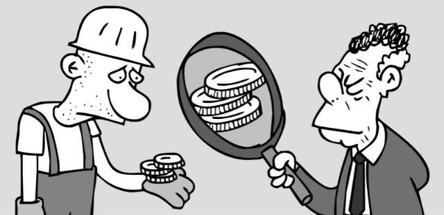 Partidos políticos: los parásitos de nuestro salario mínimo
