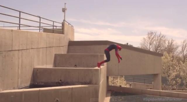 Video: Parkour al estilo Spider-Man