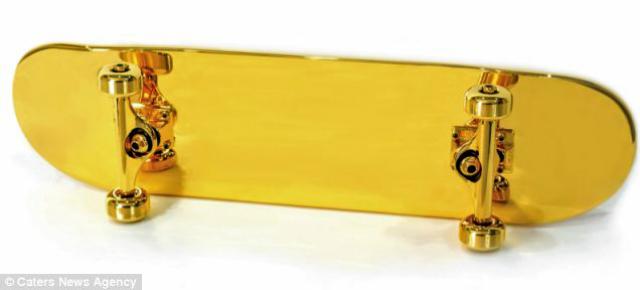 Y con ustedes... la patineta más costosa del mundo entero