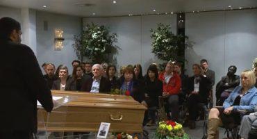 Una campaña de seguridad vial nos muestra cómo sería nuestro propio funeral