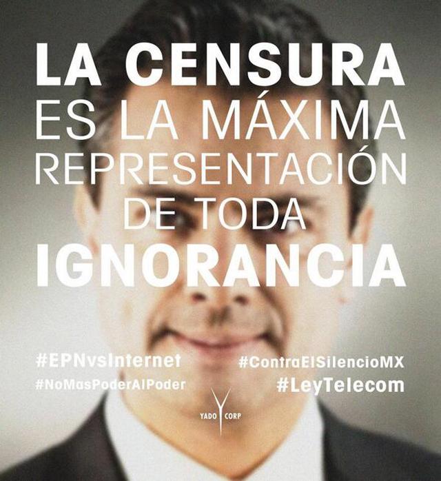 ¿Sabías que en 2009 el Internet estuvo en peligro en México y logramos defenderlo? #EPNvsInternet