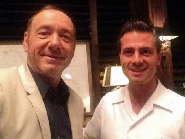 Kevin Spacey hace