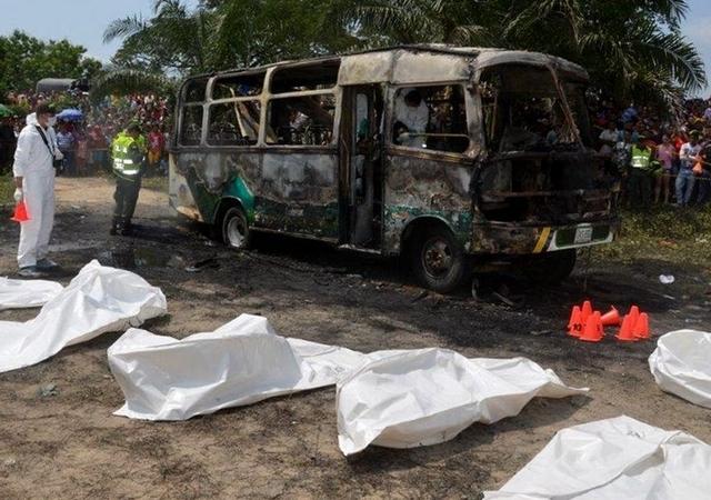 Duelo nacional en Colombia por la muerte de 31 niños