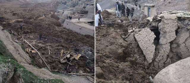derrumbe afganistan