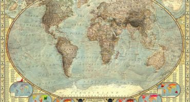 El mapamundi de los estereotipos