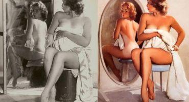 Pin-ups: Imágenes de los primeros