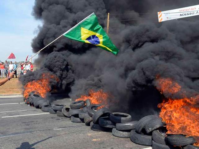 Galería #15m: protestas en Brasil contra el Mundial