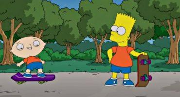 ¡Gran adelanto del crossover de The Simpsons y Family Guy!