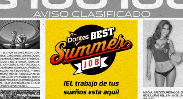 ¿Buscas Trabajo? Ya llegó el Doritos Best Summer Job de Sopitas.com
