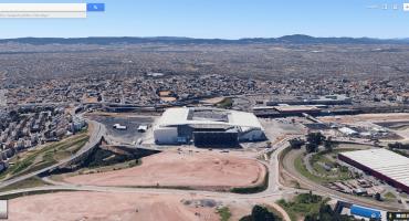 Échale un ojo a los estadios del Mundial de Brasil a través de Google Earth