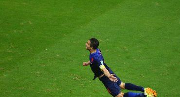 El gol de Van Persie se apodera de la red