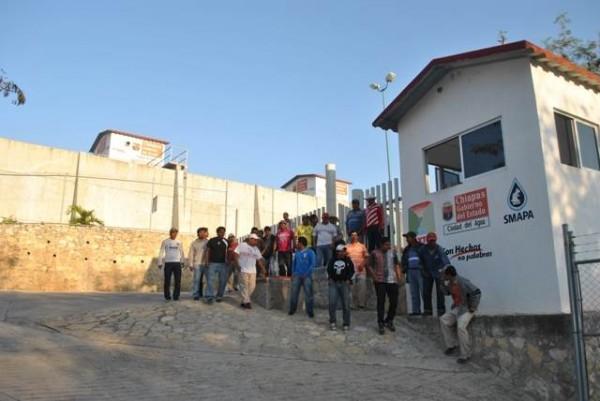 En Chiapas: Solicitaban mejores condiciones laborales, fueron detenidos