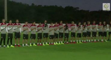 Croacia entrena todo: hasta cómo cantará el himno nacional
