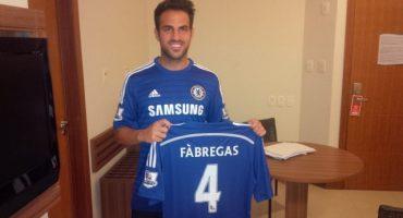 OFICIAL: Fábregas ya es jugador del Chelsea, robaron camisetas de Chile de la ANFP y más