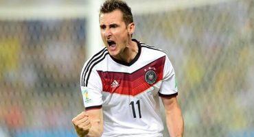 Miroslav Klose anunció su retiro de la Selección Alemana