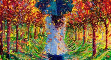 Iris Scott y sus pinturas hechas con los dedos
