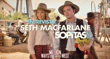 Entrevista: Seth MacFarlane y Charlize Theron nos hablan de
