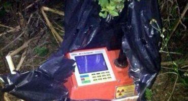 Diez días después, encuentran material radiactivo robado