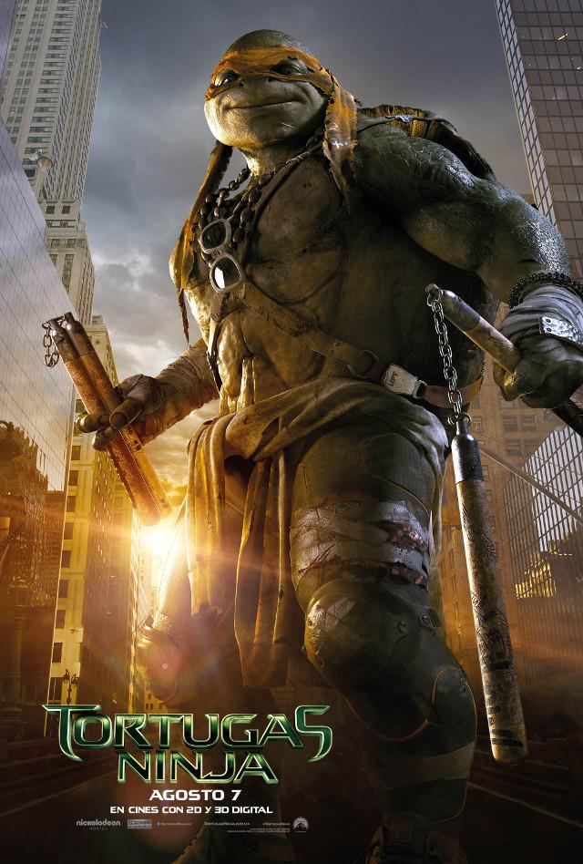Miguel Ángel, Leonardo, Raphael y Donatello regresan en los nuevos posters animados de