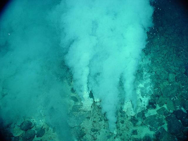 El océano debajo del océano