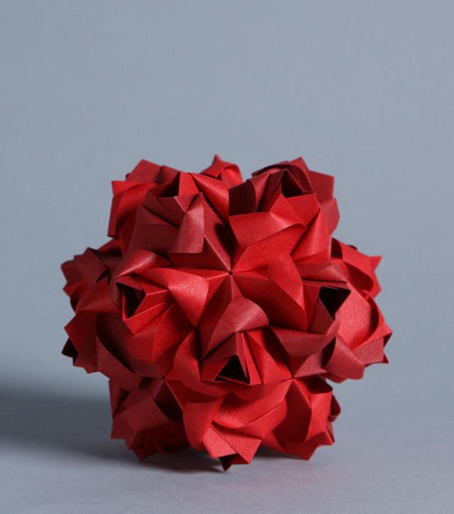 ¿Se acuerdan del origami? A estos extremos ha llegado