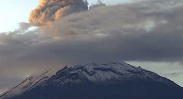 Video: Impresionante explosión del Popocatépetl