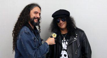 Slash en entrevista para Sopitas.com: