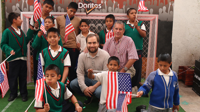Ellos fueron nuestros invitados especiales para ver el Estados Unidos vs Alemania