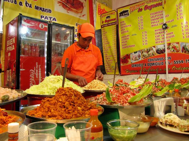 Los mejores puestos de mercado para comer en el DF