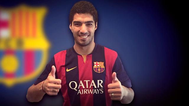 Luis Suarez ya es jugador del Barcelona