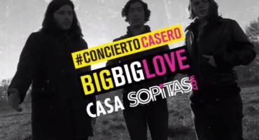 Así se vivió el primer #ConciertoCasero de la Casa de Sopitas con Big Big Love