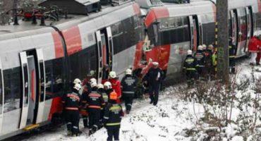 Saldo de 25 heridos deja choque de trenes en Francia