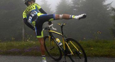 Alberto Contador sufrió fractura de tibia y abandonó el Tour de France