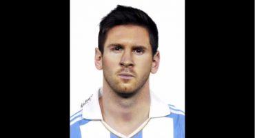 Y así es como se dibuja a Lionel Messi