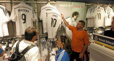 ¿Cuánto dinero ganó el Real Madrid en una hora al vender playeras de James Rodríguez?
