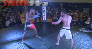 Mega OUCH!!! Un KO en las artes marciales mixtas en tan solo ¡3 segundos!