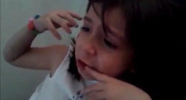 Niña lloró porque le dieron el Balón de Oro a Messi en vez de James Rodríguez