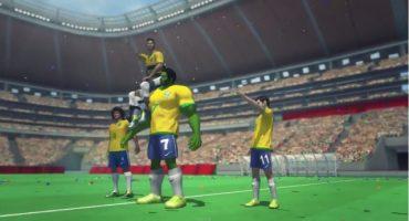 La representación más extraña de la goleada de Alemania sobre Brasil