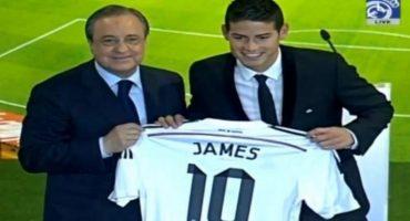 Revive la presentación de James Rodríguez con el Real Madrid
