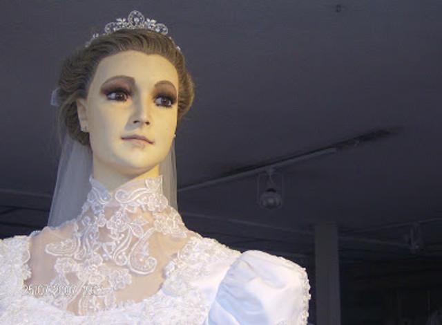 Leyenda de la mujer vestida de novia