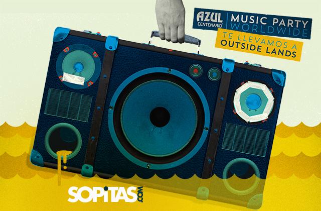 ¡Este es el ganador que se va a Outside Lands con Azul Centenario y Sopitas.com!