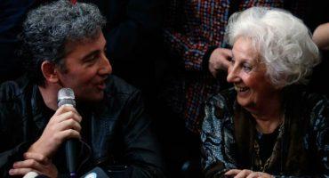 Se reúne Abuela de la Plaza de Mayo con su nieto después de 36 años