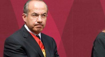 Se nos enojó Calderón: arremete contra AMLO por no reconocer su generosa donación