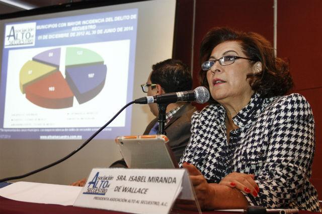 Aumentan los secuestros en México en el mes de julio: Wallace