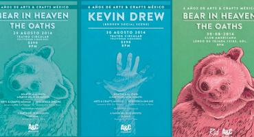 Bear in Heaven, Kevin Drew y The Oaths en México