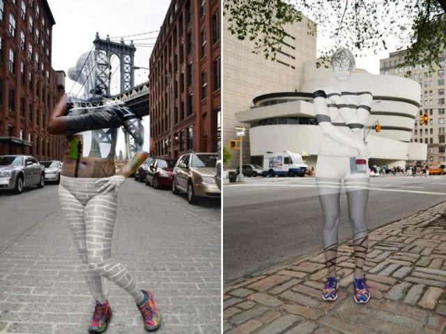 Galería: Mujeres invisibles recorren Nueva York